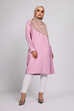 Aamily Tunic - Pink Blush