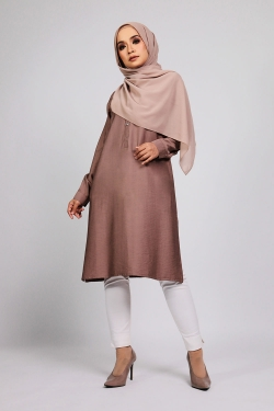 Aamily Tunic - Plum Wine