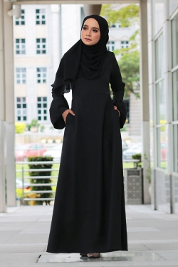 Abella Jubah - Black