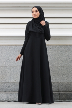 ADALIAA DRESS - BLACK