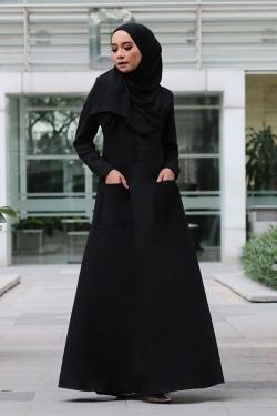 ADRIANNA JUBAH - BLACK