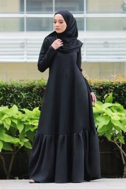 Aleeta Jubah - Black