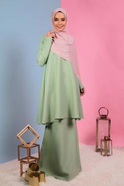 Allaina Kurung - Dusty Green