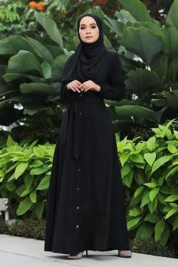 Amella Jubah - Black