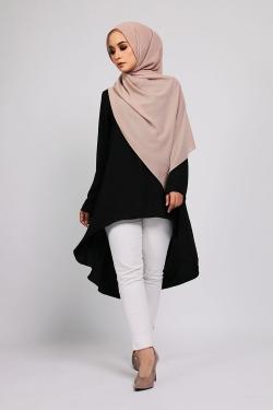 Amnaa tunic - Black