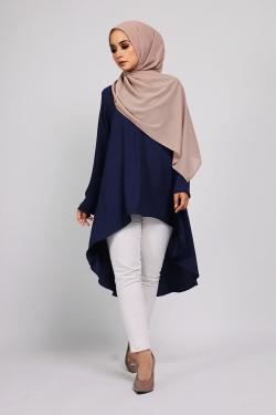 Amnaa tunic - Navy Blue