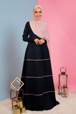 Analee Jubah - Dark Blue