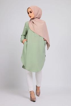 Araalyn tunic - Dusty Green
