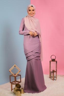 Aylaa Kurung - Lilac