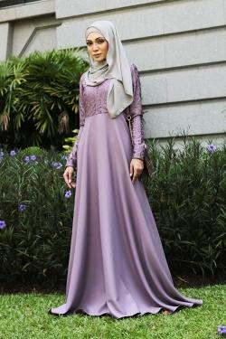 Azzka Camellia - Lilac Purple