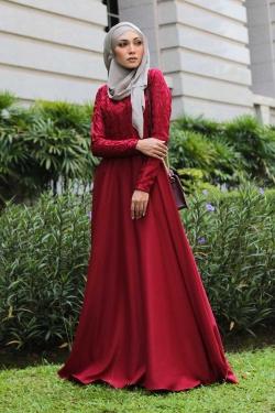 Azzka Camellia - Maroon Red
