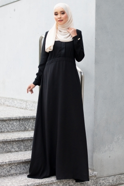 ALENTINAA DRESS - BLACK