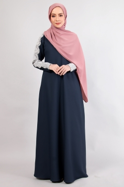 ALRAANDECY JUBAH 14.0 - DARK BLUE
