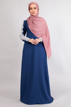 ALRAANDECY JUBAH 14.0 - MIDNIGHT BLUE