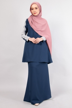 ALRAANDECY KURUNG - NAVY
