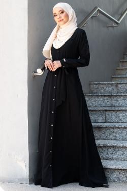 ANDRAAH DRESS - BLACK