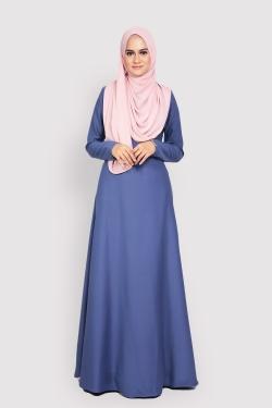 ANEETA 2.0 jubah - SLATE BLUE