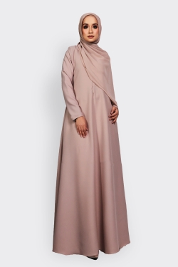 ANEETA 2.0 jubah - UTTERLY BEIGE