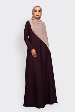 ANEETA 2.0 jubah - WINE