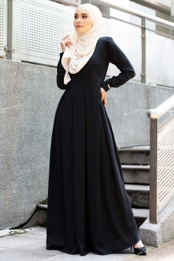 ANESAA DRESS - BLACK
