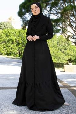 AURAA JUBAH - BLACK