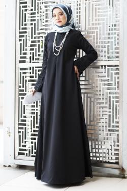 Ainee Jubah - Black