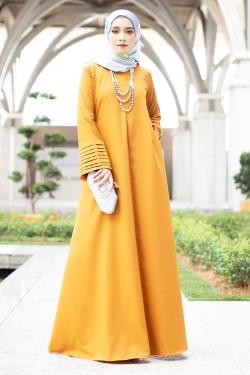 Ainee Jubah - Mustard