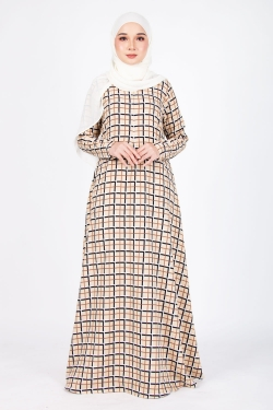PRINTED COLLECTION 21.0 - PCJ 21.09 - BEIGE PLAID