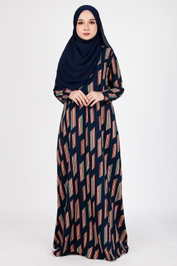 PRINTED COLLECTION 21.0 - PCJ 21.03 - NAVY BLUE
