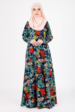 PRINTED COLLECTION 23.0 - PCJ 23.02 - NAVY BLUE