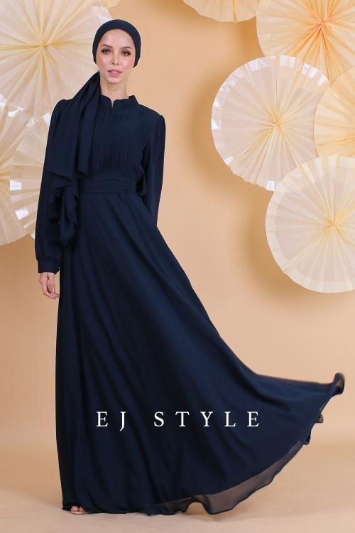 AMAIRAA DRESS - DARK BLUE
